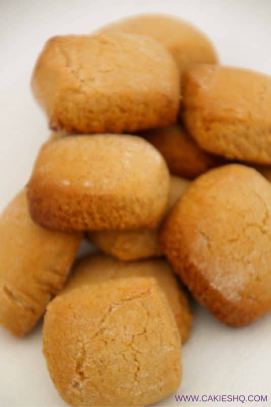 Traditional Dutch Pepernoten are more soft and chewy versus the crunchy pepernoten. A nice recipe for Sinterklaas, Thanksgiving or Christmas. #dutchfood #dutchrecipe #peppernuts
