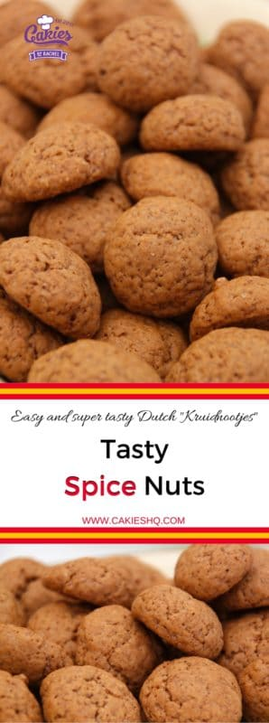 An easy (pumpkin) Spice Nuts cookie recipe. Recipe for Dutch Kruidnootjes. These spice cookies are delicious and easy to make with your kids