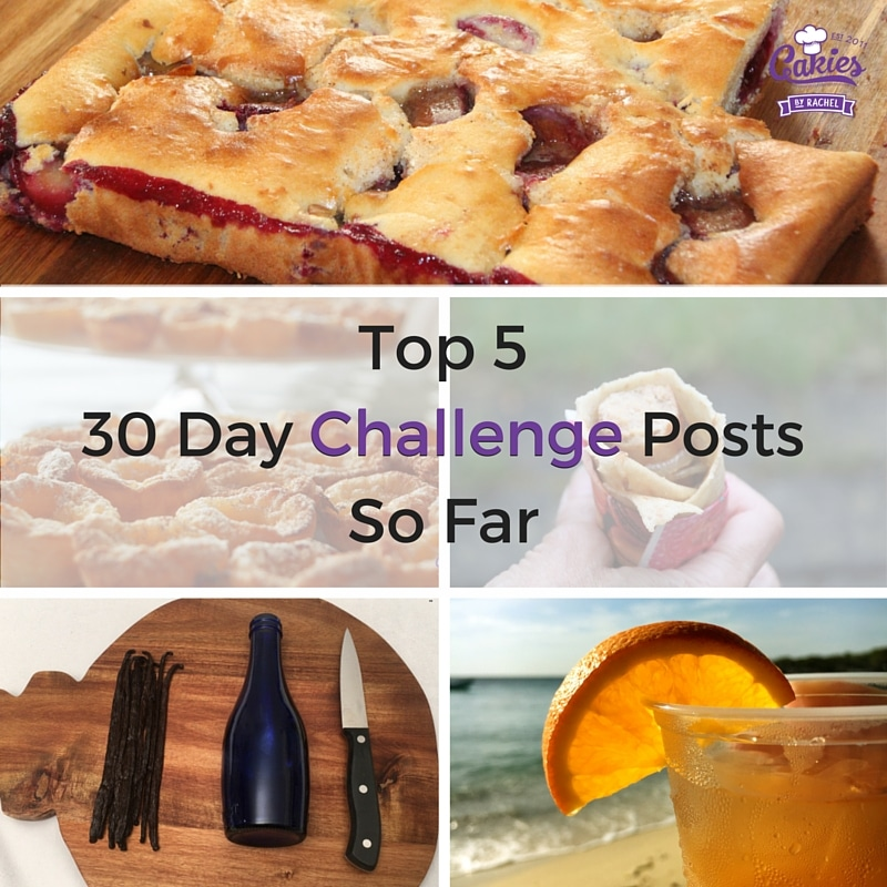 Top 5 Posts of the 30 Day Blogging Challenge (so far)