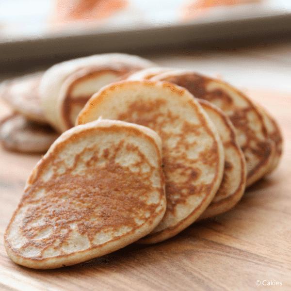 russian buckwheat blini recipe russian mini pancakes. Black Bedroom Furniture Sets. Home Design Ideas