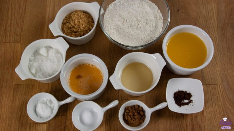 Ingredients Dutch Soft Speculaasbrok