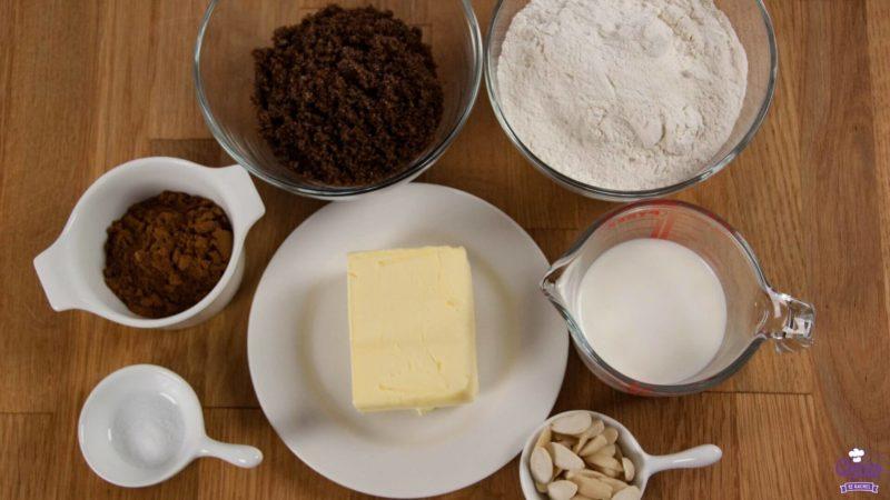 Dutch speculaasbrokken ingredients