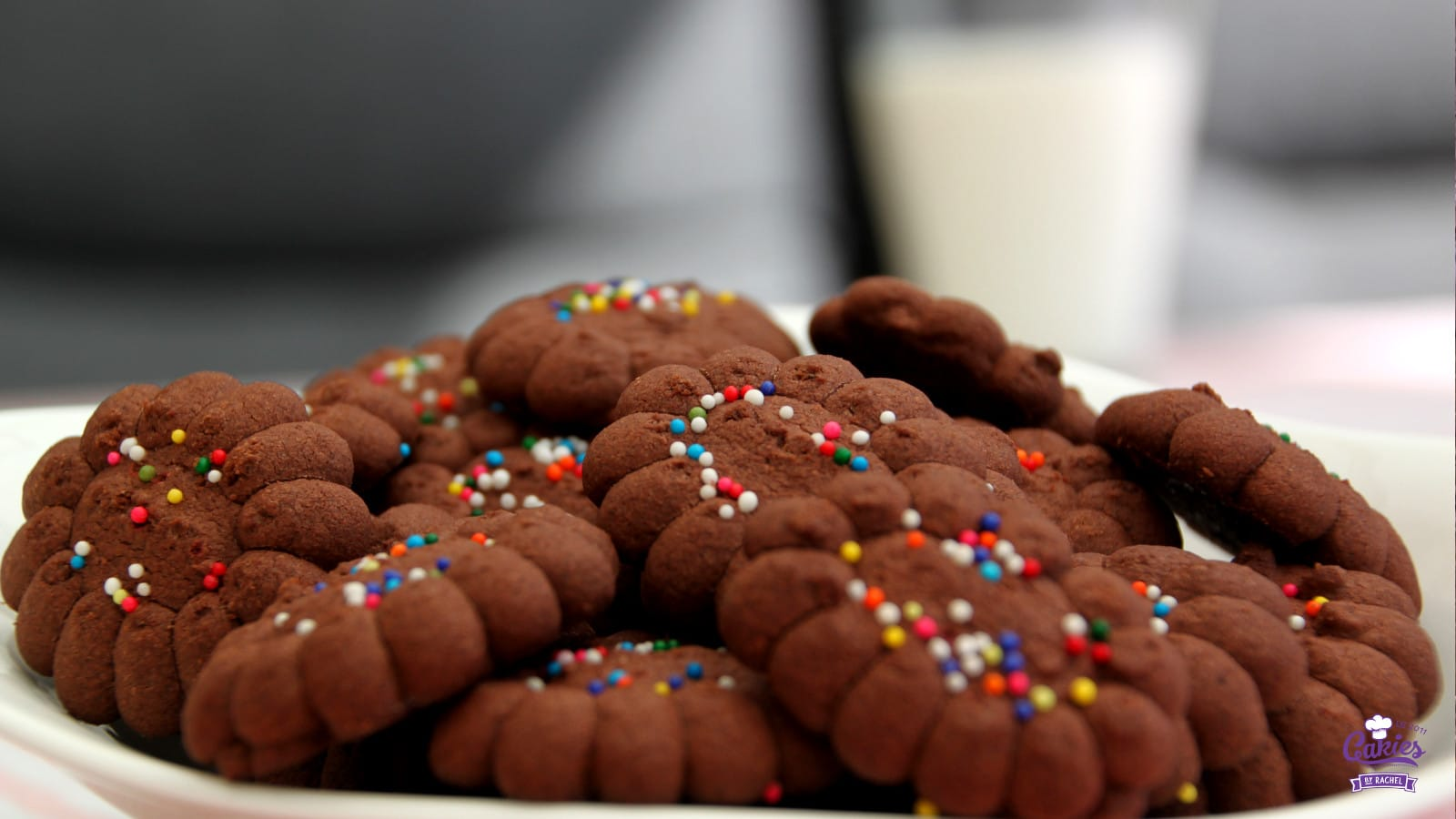 Gluten Free Chocolate Cornflour Cookie Recipe - Brownzena