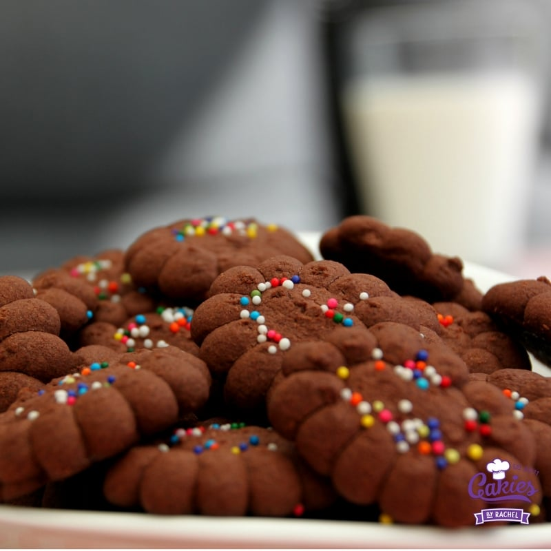 Gluten Free Chocolate Cornflour Cookies Recipe - Brownzena