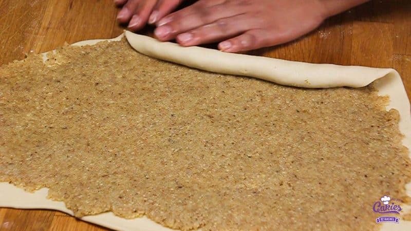 Orechovnik - Slovak Nut Roll Recipe | Orechovnik is a Slovak nut roll. A delicious sweet bread with a nutty filling. A favorite in many Eastern European countries. | http://www.cakieshq.com | Step 30