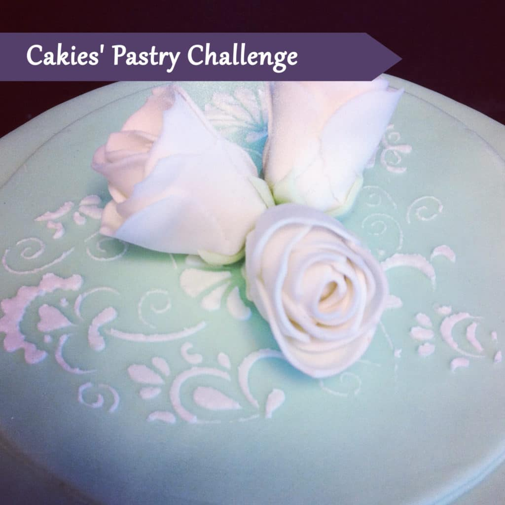 Pastry Course Day Twenty: Decorating a Two Tiered Cake (again)