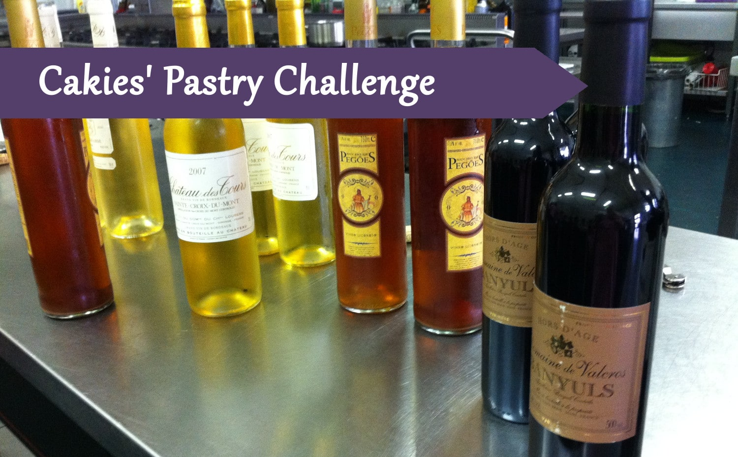 Pastry Course Day 32: Ice and Wine and Food tasting with Robert Verweij