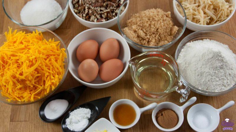 Pumpkin Cake Ingredients