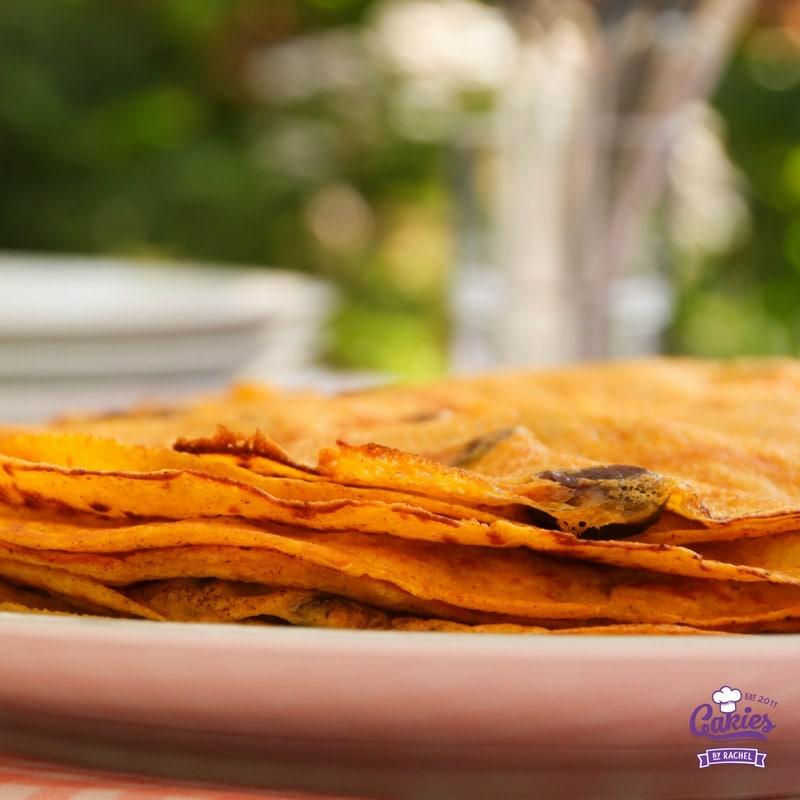 Thin Pumpkin Pancakes Recipe