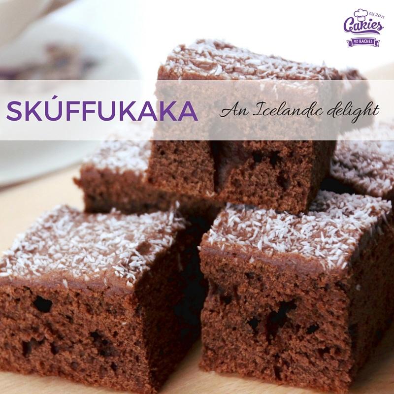 Skúffukaka - Iceandic Brownies