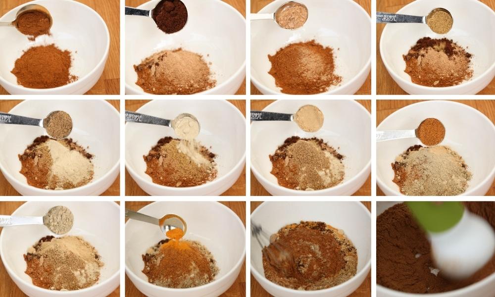 Speculaaskruiden (Koekkruiden) | Speculaaskruiden (koekkruiden) zijn makkelijk zelf te maken. Speculaaskruiden (koekkruiden) kan je o.a. gebruiken voor speculaasjes, kruidnoten, pepernoten. | http://www.cakies.nl | Stappen