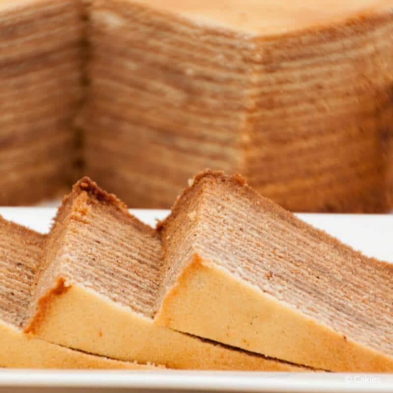 Spekkoek – Thousand Layer Cake (Lapis Legit)