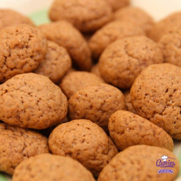Tasty Pumpkin Spice Nuts | An easy (pumpkin) Spice Nuts cookie recipe. Recipe for Dutch Kruidnootjes. These spice cookies are delicious and easy to make with your kids. | https://www.cakieshq.com